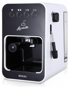 SOGO CAFETERA COMBI 1.5L - PRESION 15 BAR 1050W / 2